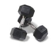 Body Maxx Hex Dumbells 20 Kg x 1 Pair