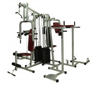 Lifeline 6 Station Home Gym - 2 Weight Lines