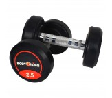 Bouncer Body King Rubber Dumbells 2.5 Kg x 1 Pair