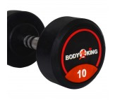 Bouncer Body King Rubber Dumbells 10 Kg x 1 Pair