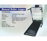 Manual Roller Jogger With Bearing For Home & Club Usage