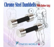 10 Kg Chrome Steel Dumbells Sets.