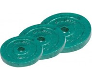 Cast Iron Weight Plates 20 Kg Free Weight Loaded Plates