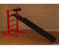 ABDOMINAL BENCH WITH LADDER HEAVY DUTY AB BENCH 6 FT