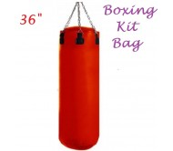 "Full Size Punching Kit Bag 36"", Pu Material."