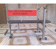 HEAVY DUTY 3 IN 1 MULTI PUPOSE BENCH PRESS 2X2 SQ PIPE