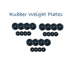 Rubber Weight Plates 80 KG For Home & Club Use