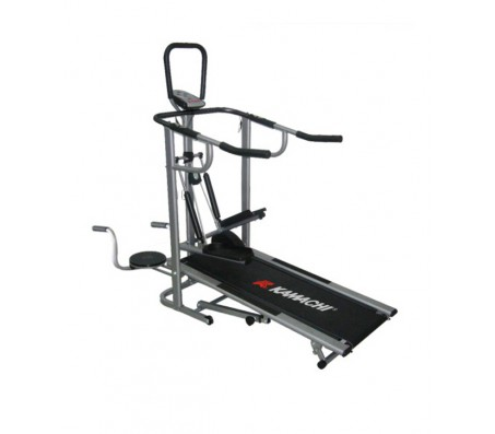 Kamachi Manual 4 in 1 Treadmill, Stepper, Twister, Push ups bars, JOgger