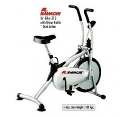 Kamachi Air Bike Exercise Cycle Model no 313 With Water Bottle