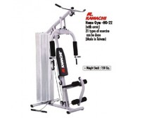 Kamachi Home Gym With 22 Exercises HG-22