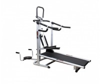 Lifeline Manual 4 in 1 Treadmill ( Jogger + Stepper + Twister + Push Ups Bars) DLX MODEL