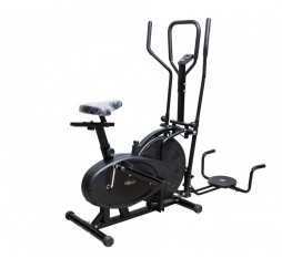 LIFELINE ORBITRAC 4 IN 1 CYCLE + CROSS TRAINER + TWISTER + DIPS