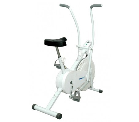 Lifeline Dual Functional Air Bike Execise cycle With Digital Meter