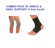 Combo Pack Of Knee Support & Ankle Support x 1 Pair