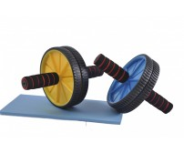 Body Maxx Ab Wheel Exerciser (Free Knee Mat)
