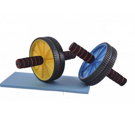Body Maxx Ab Wheel Exerciser (Free Knee Mat)