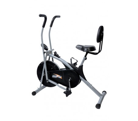 Branded Dual Functional Exercise Air Bike With Back Support