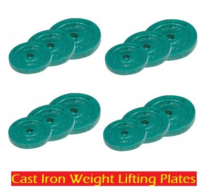 100 Kg Cast Iron Body Maxx Weight Plates