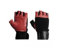 Body Maxx Leather Gym Gloves Model no 464. Hot seller of The Month