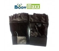 Leather Gym Gloves Padded Palm Support Without Wrist Support