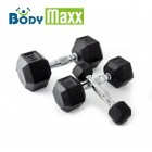 Body Maxx Hex Dumbells 5 Kg x 2 No