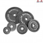 Body Tech Gripwell 100kg Cast Iron Olympic Challenge Weight Plates