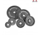 Body Tech Gripwell Combo Of 10kg Cast Iron Olympic Challenge Weight Plates