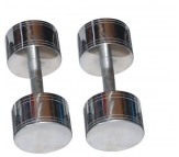 Chrome Steel Dumbells 7.5 KG X 2 PCS