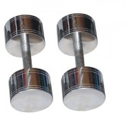 Chrome Steel Dumbells 10 KG X 2 PCS