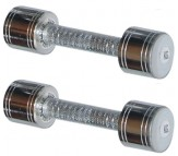 Chrome Steel Dumbells 5 KG X 2 PCS