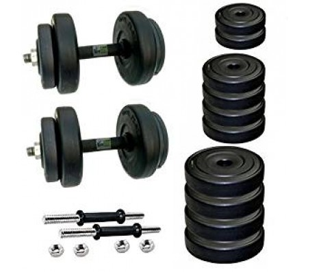 Body Maxx 16 Kg PVC Dumbells Sets BM-Combo-20