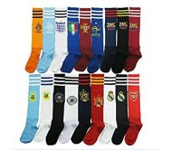 Body Maxx Club Soccer / Football Socks Stockings Assorted Colors (Set Of 3)