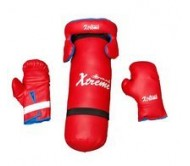 Body Maxx Kid's Boxing Kit (Boxing Bag, Head Guard, Boxing Gloves)